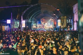 מסיבת רחוב בעיר העתיקה.