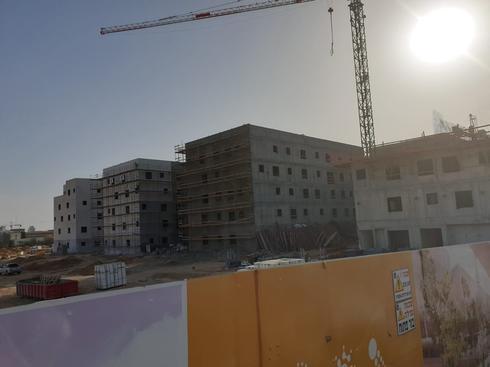 בניית הקמפוס החדש בשכונת רמות