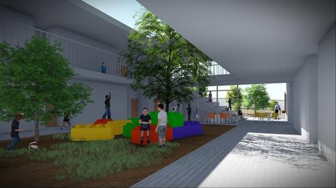 """בית הספר החדש בשכונת הסיגליות בב""""ש"""