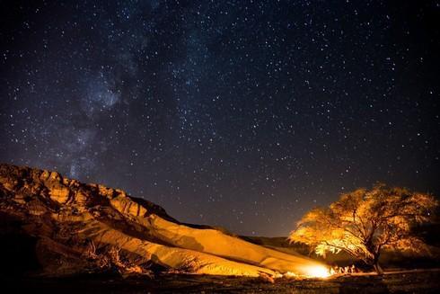 תצפית הכוכבים בהר הנגב.