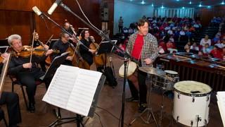 חן צימבליסטה והסינפונייטה הישראלית באר שבע.