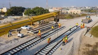 הקמת המסילה החדשה