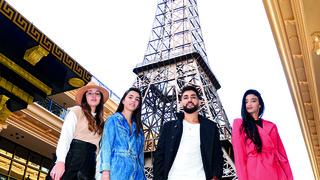 """הצעירים חו""""ל השבוע במתחם פריז המפואר בנתיבות. אווירה של קניות בחו""""ל"""