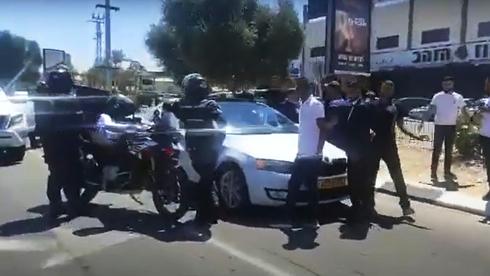 מעצר השיירה.