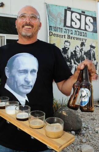 """""""מאמין בייצור מוצר בריא, אלכוהולי במידה וטרי מאוד"""". איציק לוי"""