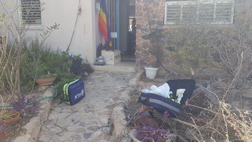 הבית שבו נמצאה אחת הגופות
