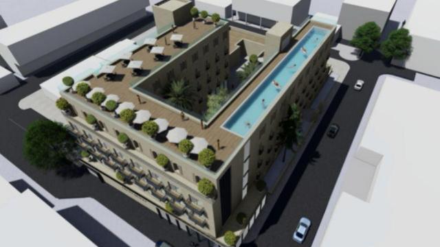 """המלון החדש שיקום בעיר העתיקה בב""""ש"""