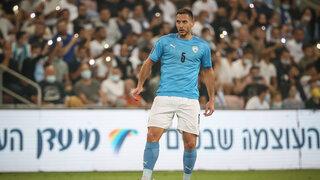 """איאד אבו-עביד במדי הנבחרת. שני משחקים טובים לשחקן של הפועל ב""""ש"""