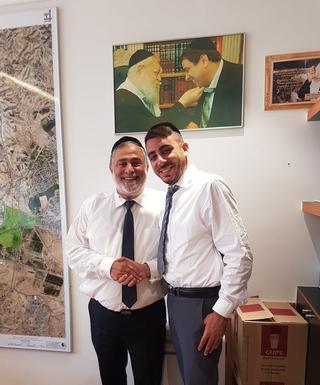 (מימין) יעקב אוחיון ועופר כרדי. צילום פרטי
