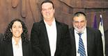 כרדי (מימין), אל־על וזוהר. צילום: הרצל יוסף