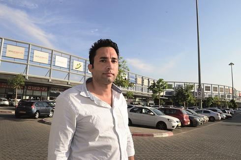 ערן אשכרי, מבנה אאוטלט. צילום: הרצל יוסף