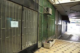 עסקים סגורים בעיר העתיקה. צילום: הרצל יוסף