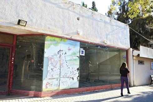 עסקים סגורים בעיר העתיקה בבאר שבע. צילום: הרצל יוסף