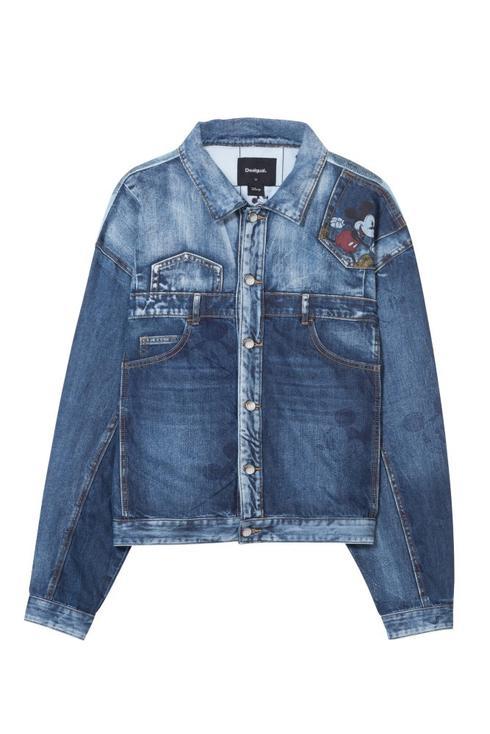 """ג'קט ג'ינס DESIGUAL. יח""""צ"""