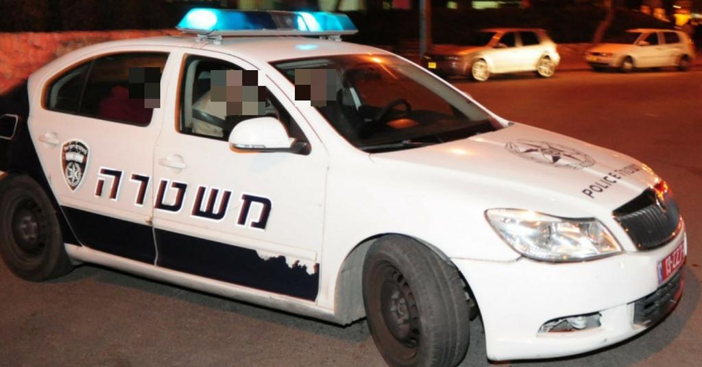 ניידת משטרה. נסיבות האירוע נבדקות