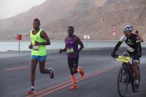 """מרתון ארץ ים המלח. צילום: יח""""צ המרתון"""