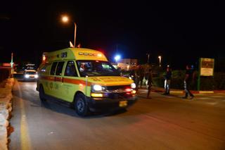 תאונת אוטובוס ליד שומריה. צילום: הרצל יוסף