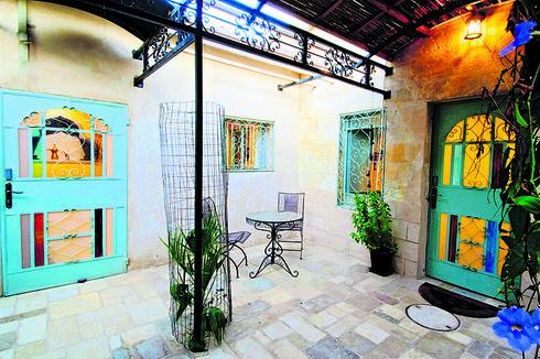 בית בעתיקה בבאר שבע   צילום: אסף פינצוק