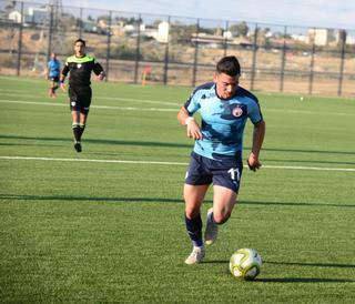 עבדאללה אבו עבד. הקבוצה שלו הודחה בחצי הגמר. צילום: הרצל יוסף