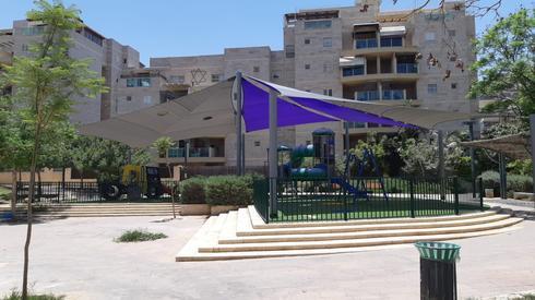 גן המשחקים החדש בנווה זאב | צילום: באדיבות עיריית באר שבע