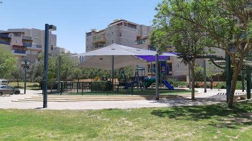 גן בר ניסן בשכונת נווה זאב | צילום: דוברות עיריית באר שבע