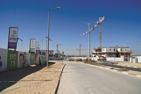 שכונת סיגליות באר שבע. צילום: הרצל יוסף