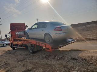 רכבו של החשוד | צילום באדיבות המשטרה