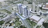 תכנית למתחם מועצת הפועלים בבש בתכנון מרש אדריכלים | הדמיה: מרש אדריכלים