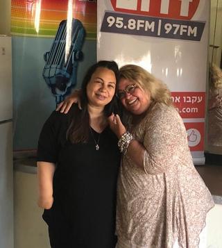 ריקי קיטרו ואמירה בוזגלו. צילום: יוסי קיטרו